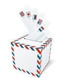 Mezinárodní korespondenci, letterbox koncepce