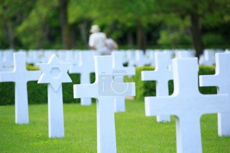 American war cemetery, Cambridge England