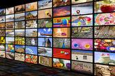"""Постер, картина, фотообои """"Концепция развлечения HDTV"""""""