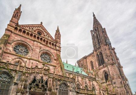 Strasbourg, Cathedral Notre Dame. Alsace, France