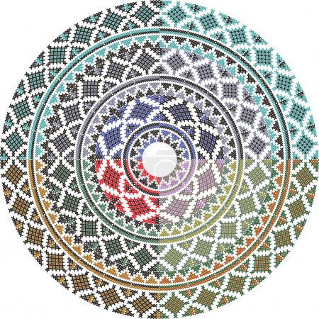 Illustration for Ancient pattern. Vector illustration - Royalty Free Image