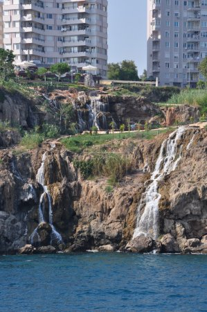 Waterfalls of the Turkish coast