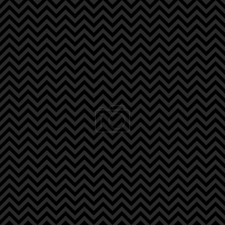 Photo for Seamless chevron pattern in black and dark grey. - Royalty Free Image