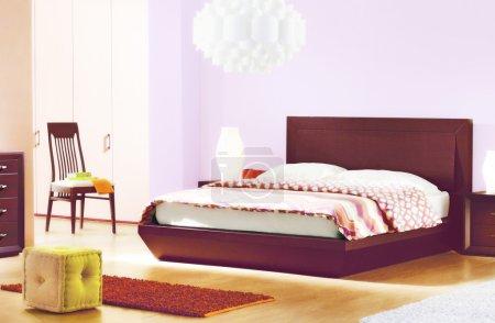 Photo pour Beaux intérieurs de chambre - image libre de droit
