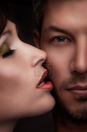 Beauty kiss