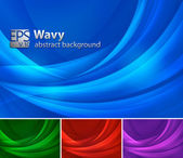A set of swirly abstract background Each object separately on different layers and easy to customize Available in 3 different forms and colors Use it for your web background design element and other File format : EPS 10