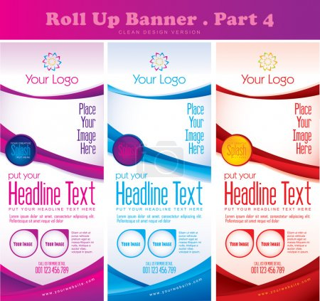 Photo for 3 in 1 multipurpose banner, suitable for your design project or your promotion. Available in 3 different colors - Royalty Free Image