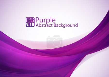 Illustration for Purple abstract background series, suitable for your design element or other. File format EPS 10 - Royalty Free Image