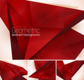 A set of geometric abstract background Each background separately on different layers  Available in 4 variants and created in RGB mode
