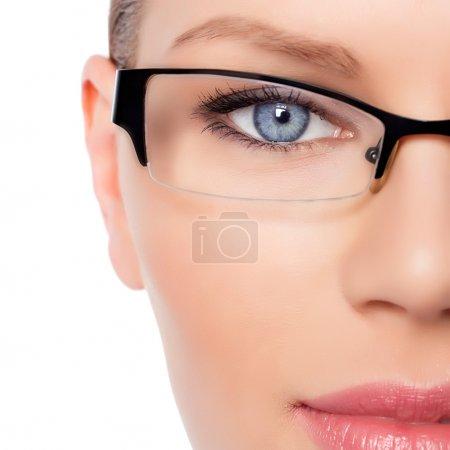 Woman Doctor in eyeglasses
