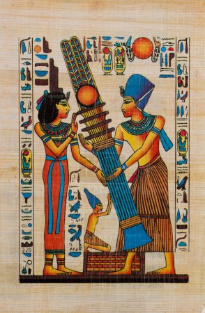Papiro egipcio antiguo