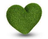 Srdce zelené trávy