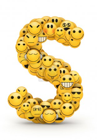 Emoticons letter S