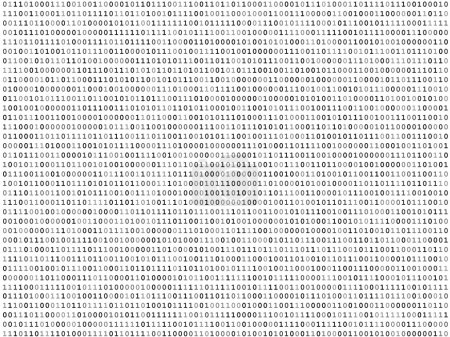 Sheet of binary codes