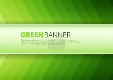 Illustration for Green  background direction texture with white message board for text and message design - Royalty Free Image