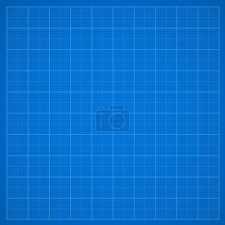Blue grid paper