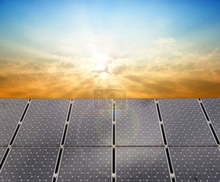 Foto de Paneles solares - Imagen libre de derechos