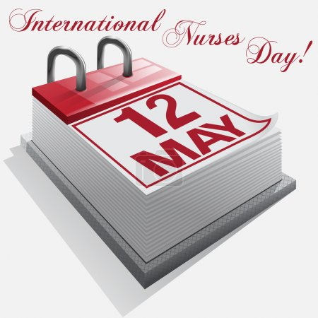 calendar.12 May. International Nurses Day.