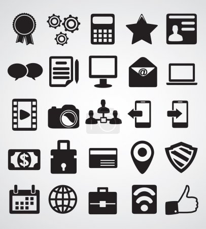 Set of Internet icons- part 1