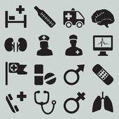 Set of medical icons - part 2