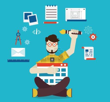 Designer and work