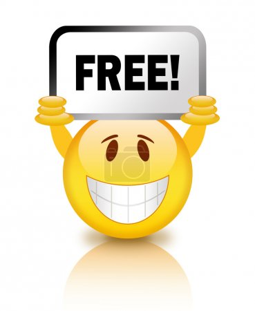 Free smiley icon