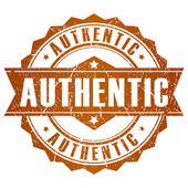 Authentic vector stamp