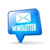 Vector newsletter icon