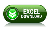 Excel format download buttonvector illustration