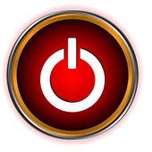 Power red circle logo