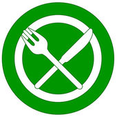 New restaurant icon with plug and knife