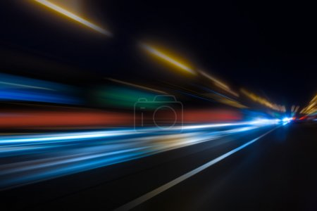 high-speed movement at night