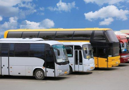 bus sur le parking