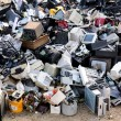 Electronic waste ready for recycling...