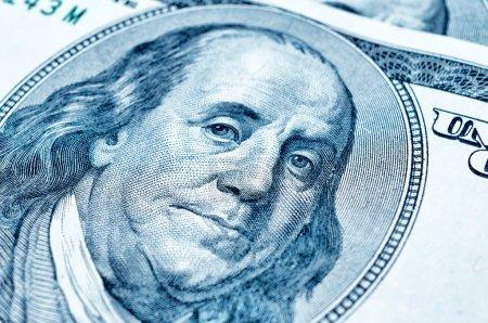 Benjamin Franklin on 100 dollar bill