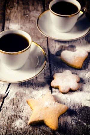 Coffee and homemade cookies