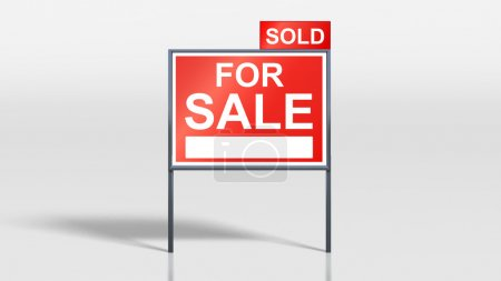 house signage stands house for sale sold