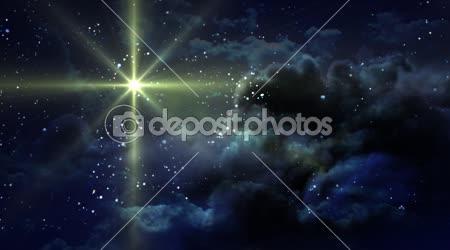 Sárga csillagos éjszaka