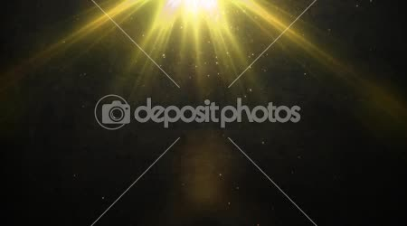 Gold light and Old wall background