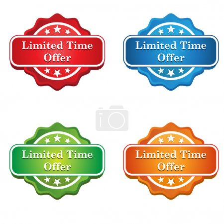 Limited Time Offer Tag icon