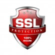 SSL Protection Secure Shield Vector Icon...