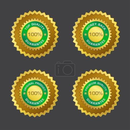 100 Percent Money Back Guarantee Gold Seal