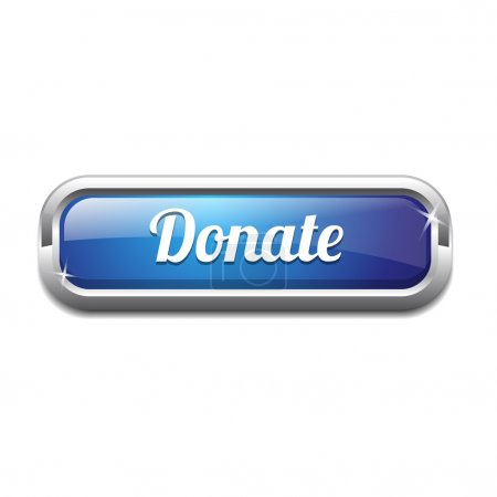 Donate Rounded Corner Vector Button Icon