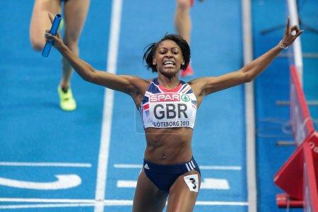 European Indoor Athletics Championship 2013. Perri Shakes-Drayton