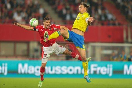 Austria vs. Sweden