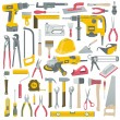 Set of construction tools vector...
