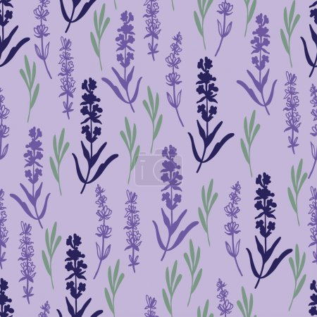 Herbal lavender pattern