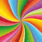 Colorful rainbow...
