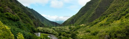 Panoramic view of Iao Valley