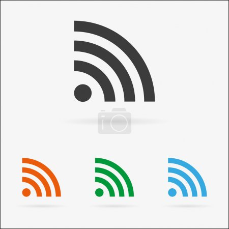 Vector signal icon